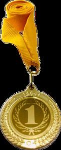 Медаль наградная 35мм. 2402-1 2 3