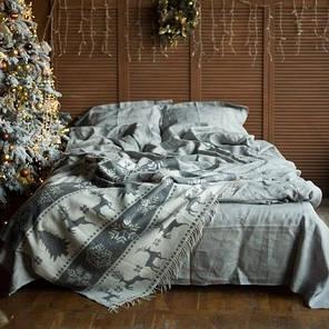 Постельное белье лен Небеленый ТМ Царский дом  (Евро), фото 2