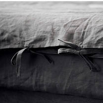 Постельное белье лен Небеленый ТМ Царский дом  (Евро), фото 3