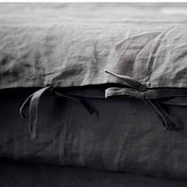 Постельное белье лен Небеленый ТМ Царский дом (Семейный), фото 2