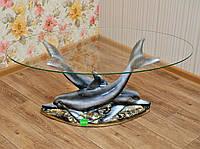 Стол журнальный Дельфины