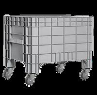 Цельнолитой неразборный контейнер K 7000 270 л с колесами