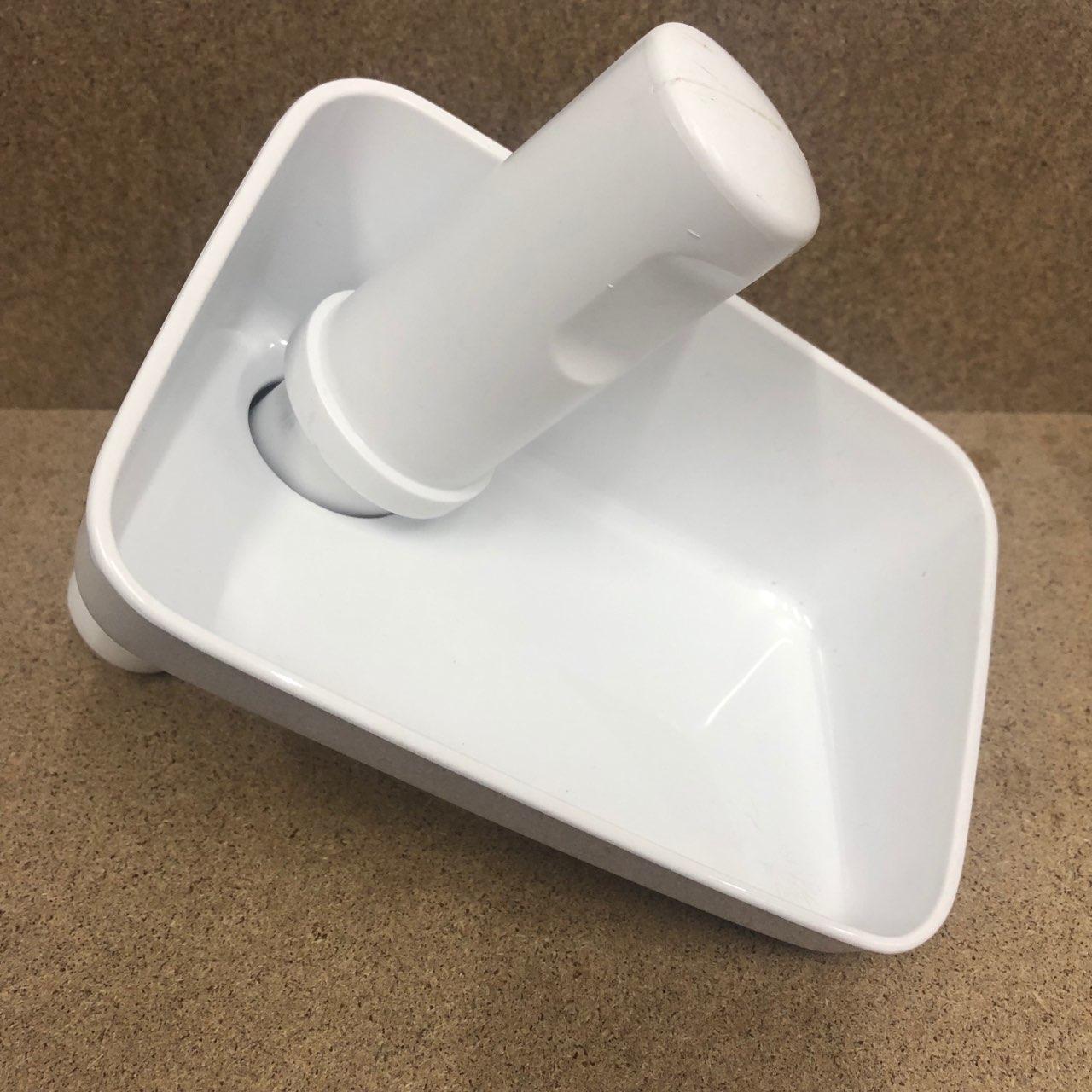 Подставка для продуктов и толкачка для мясорубки к комбайну Bosch MUM 4