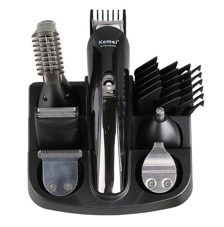 Машинка для стрижки волос. Профессиональный набор для стрижки 11в1 Kemei KM 600