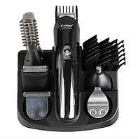 Машинка для стрижки волос. Профессиональный набор для стрижки 11в1 Kemei KM 600, фото 1