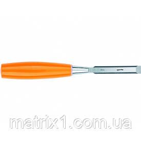 Стамеска, 10 мм, плоская, пластмассовая ручка// SPARTA
