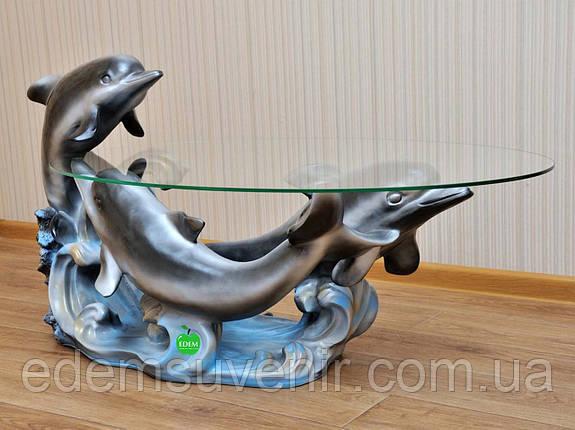 Стол журнальный Три дельфина, фото 2