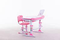 Комплект парта+стілець М 9047 + підставка для книжок в подарунок, фото 1