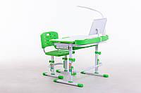 Комплект парта+стілець М 8045 + НАСТІЛЬНА ЛАМПА + підставка для книжок в подарунок