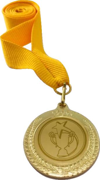 Медаль 2402-К золото