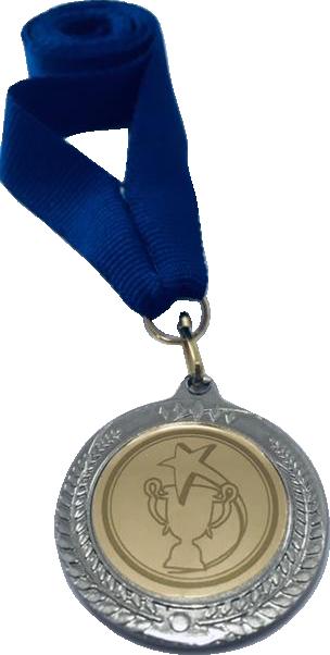Медаль 2402-К серебро