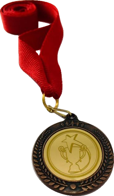 Медаль 2402-К бронза