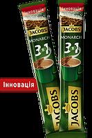 Кофейный напиток Jacobs Monarch 3 in 1 Инновация гранулированный 24 x 15 г