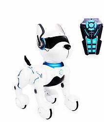 Інтерактивна собачка А001 Голосові команди LEIDY DOG ходить дає лапу музика і світло
