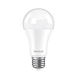 Лампа LED 12W E27 яскраве світло 220V A60  (1-LED-778) MAXUS, фото 2