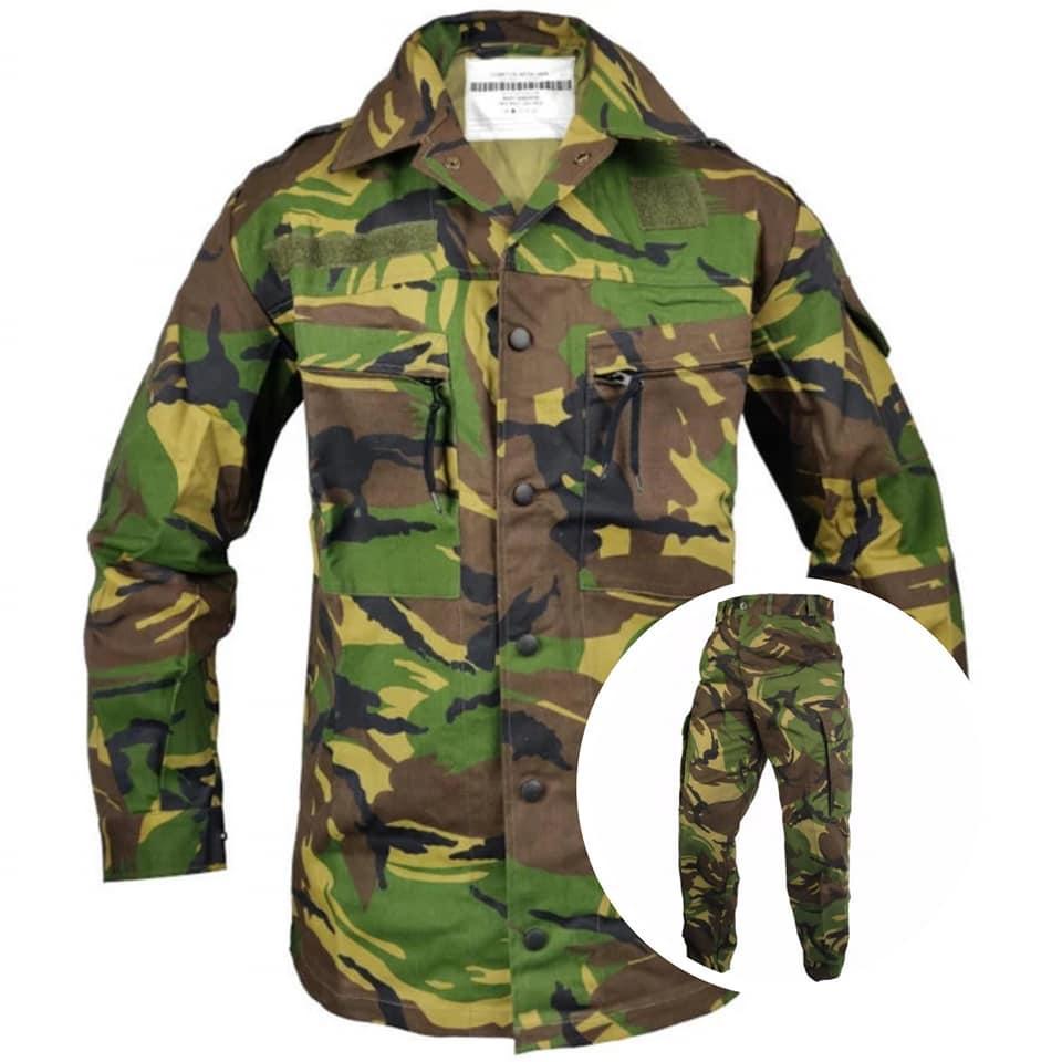 Комплект новой униформы в расцветке DPM армии Нидерландов вудланд