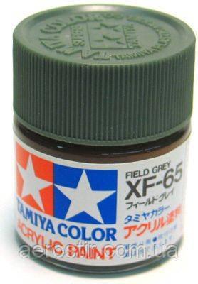 Краска Tamiya XF-65 Field Grey 10 мл.