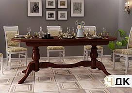 Стол кухонный дерево + МДФ