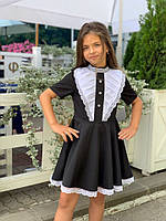 Школьное платье №747 (р.122-140) черный, фото 1