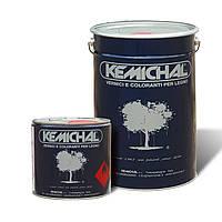 Лак для дерева акриловый прозрачный OCV822G20+C319 шелковисто-матовый KEMICHAL (Италия) (25л+2.5л)
