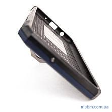 Ударопрочный чехол Serge Ring под магнитный держатель Samsung A10 Deep Blue, фото 2