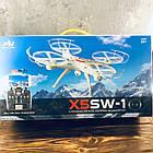 Квадрокоптер X5SW-1 c WiFi камерой, фото 4