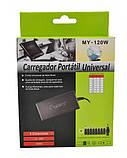 Универсальное зарядное для ноутбука до 120W UKC XWB-120W + 8 переходников, фото 5