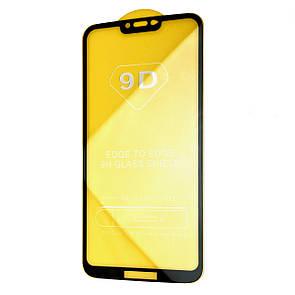 Защитное стекло Full Glue 9D Motorola Moto G7 Power (black)