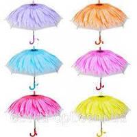 Зонтик - трость детский, цветок
