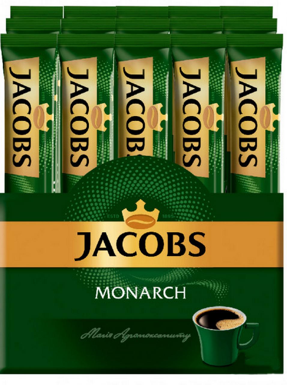 Кофе растворимый Jacobs Monarch в стиках 26 x 1,8 г