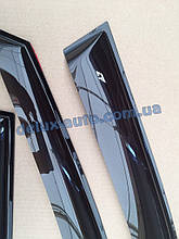 Ветровики Cobra Tuning на авто Hyundai Coupe (GK) 2002-2006 Дефлекторы окон Кобра для Хюндай Купе ЖК 2002-2006