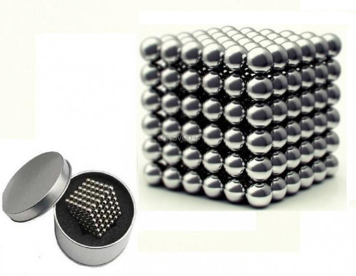 Магнитная игрушка головоломка конструктор антистресс Neocube 216 шариков 4 мм в боксе