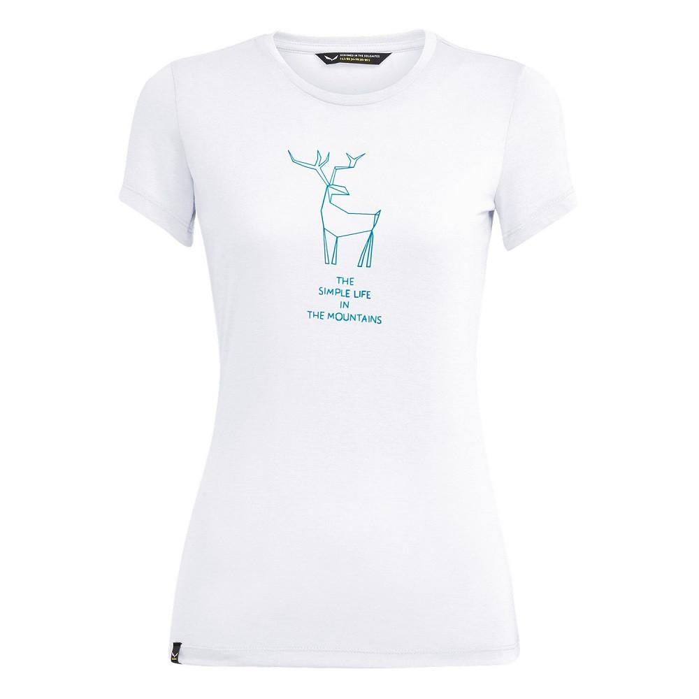 Футболка Salewa Deer Dri-Release Womens T-Shirt