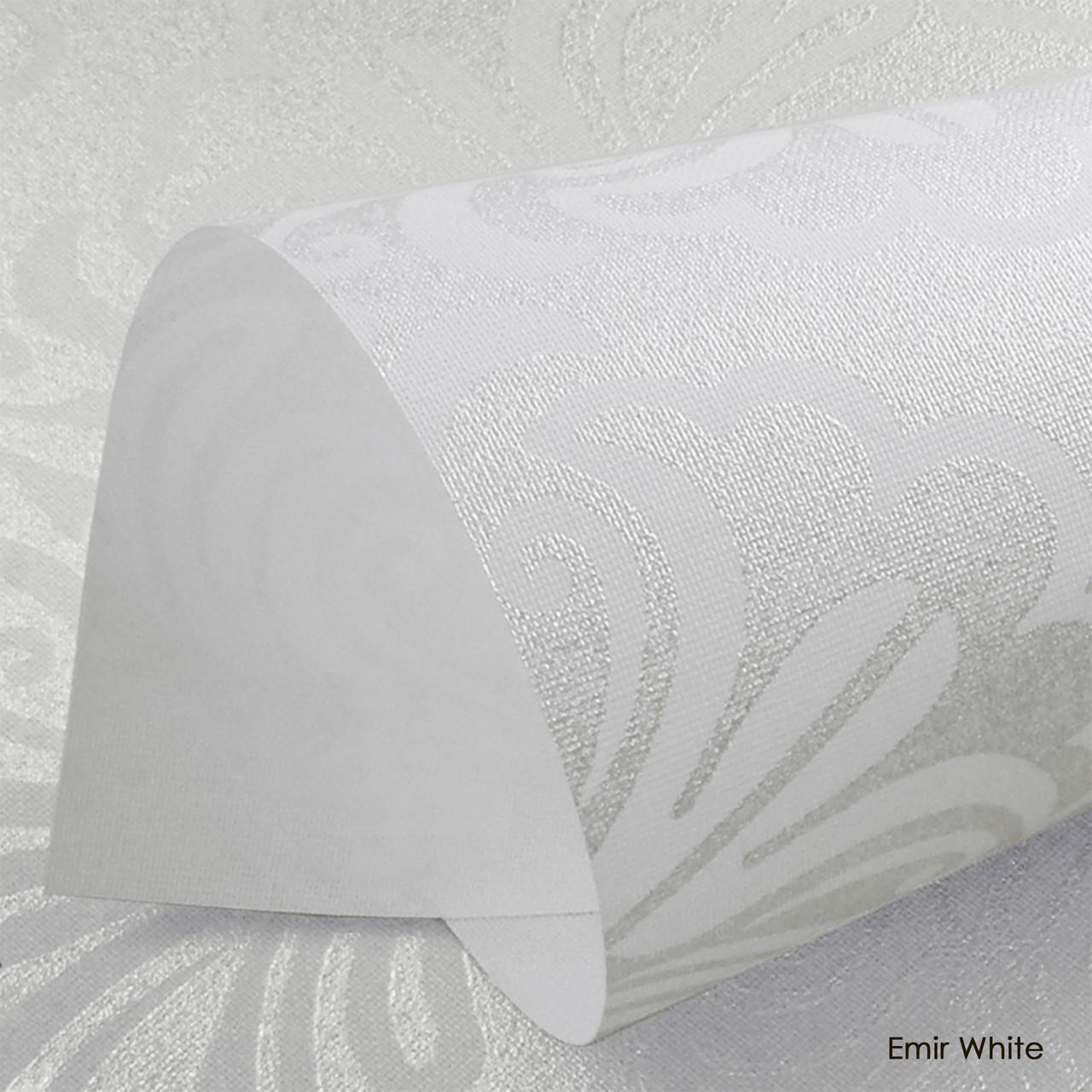 Ролеты тканевые Emir White