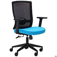 Кресло Xenon LB черный/лазурь, фото 1