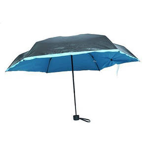 Карманный зонт Pocket Umbrella, голубой