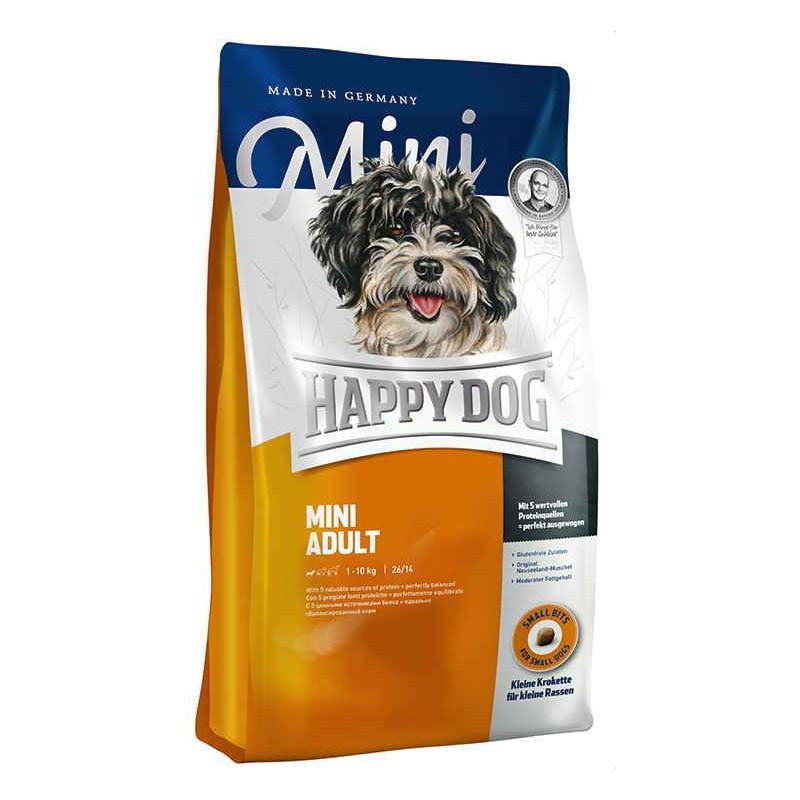 Happy Dog Supreme Mini Adult корм для взрослых собак малых пород, 1 кг