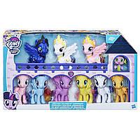 My Little Pony Большие пони набор 10 штук Луна Селестия Каденс