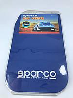 Универсальные брызговики SPARCO комплект 4 штуки / синие