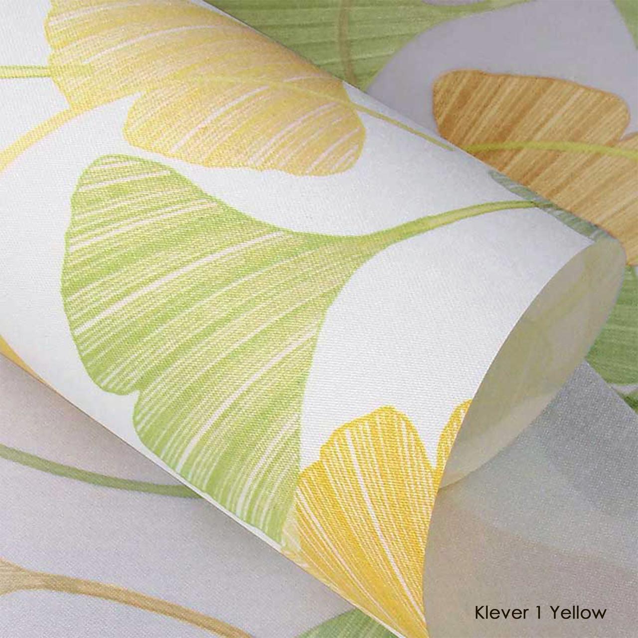 Ролеты тканевые Klever 1 Yellow
