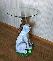 Стол журнальный Медведь, фото 3