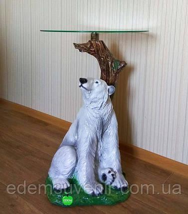 Стол журнальный Медведь, фото 2