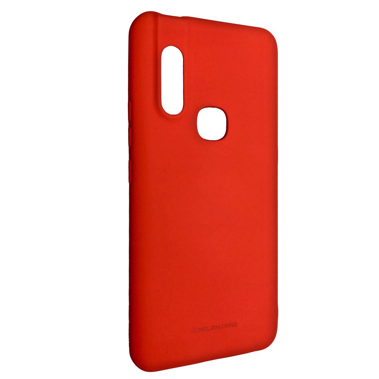 Чохол Silicone Hana Molan Cano Vivo V15 / S1 (red)