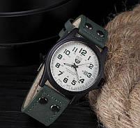 Чоловічі наручні годинники SOKI зелені, фото 3