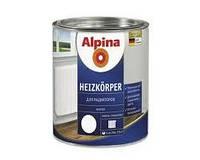 Эмаль алкидная Alpina Heizkörper для радиаторов отопления (белая) 0,75 л