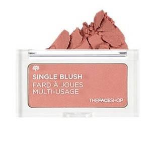 Компактные румяна The Face Shop Single Blush OR03 India Red 4g