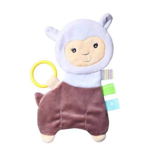Обнимашка для младенцев FLAT ALPACA LILIAN BabyOno