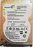 "Жесткий диск для ноутбука Seagate 500GB 2.5"" 32MB 7200rpm (ST500LM021) SATAIII Б/У, фото 1"
