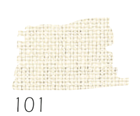 Тканина Zweigart (Aida) Аіда 14 ct - молочна (ширина 150)