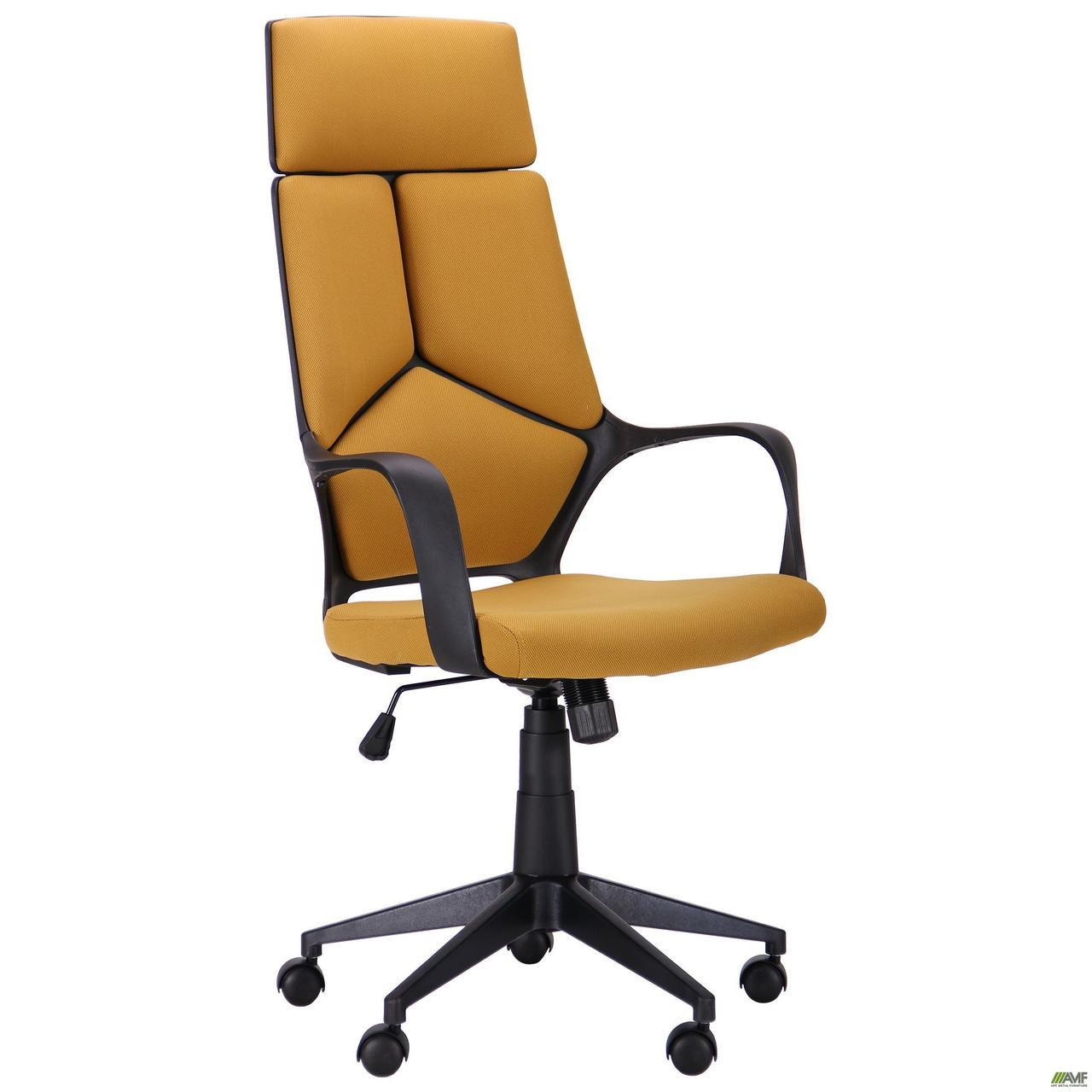 Кресло Urban HB черный/горчичный